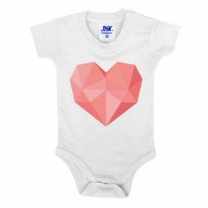 Body dziecięce Pink heart graphics