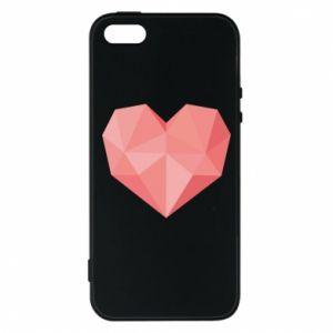 Etui na iPhone 5/5S/SE Pink heart graphics
