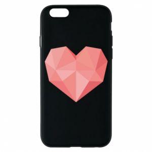 Etui na iPhone 6/6S Pink heart graphics