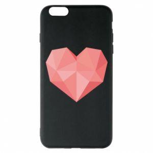 Etui na iPhone 6 Plus/6S Plus Pink heart graphics