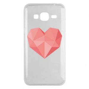 Etui na Samsung J3 2016 Pink heart graphics