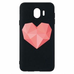 Etui na Samsung J4 Pink heart graphics