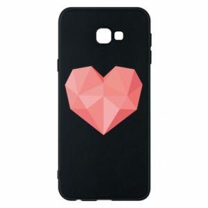 Etui na Samsung J4 Plus 2018 Pink heart graphics