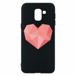 Etui na Samsung J6 Pink heart graphics