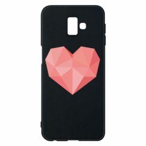 Etui na Samsung J6 Plus 2018 Pink heart graphics