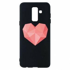 Etui na Samsung A6+ 2018 Pink heart graphics