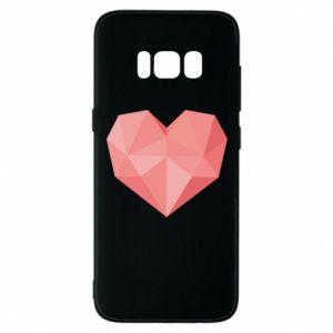 Etui na Samsung S8 Pink heart graphics