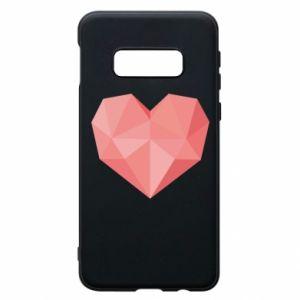 Etui na Samsung S10e Pink heart graphics