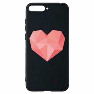 Etui na Huawei Y6 2018 Pink heart graphics