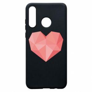 Etui na Huawei P30 Lite Pink heart graphics