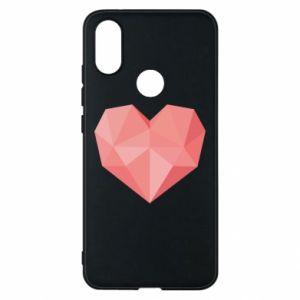 Etui na Xiaomi Mi A2 Pink heart graphics