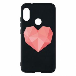 Etui na Mi A2 Lite Pink heart graphics
