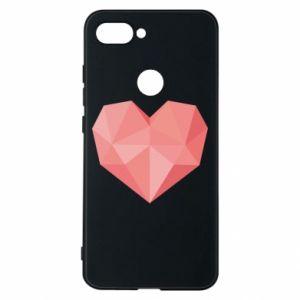 Etui na Xiaomi Mi8 Lite Pink heart graphics