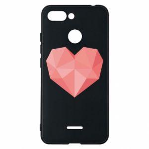 Etui na Xiaomi Redmi 6 Pink heart graphics