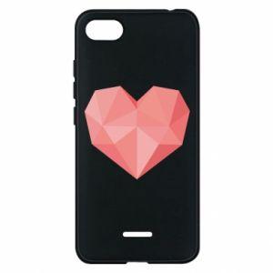 Etui na Xiaomi Redmi 6A Pink heart graphics