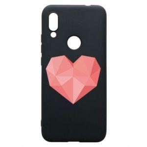 Etui na Xiaomi Redmi 7 Pink heart graphics