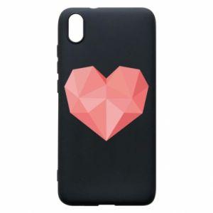 Etui na Xiaomi Redmi 7A Pink heart graphics