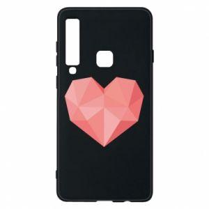 Etui na Samsung A9 2018 Pink heart graphics