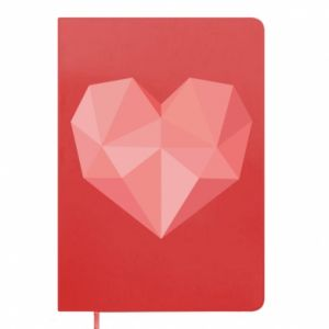Notes Pink heart graphics