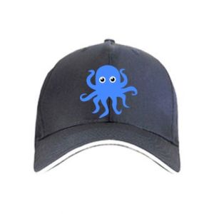 Cap Blue octopus - PrintSalon