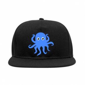 Snapback Blue octopus
