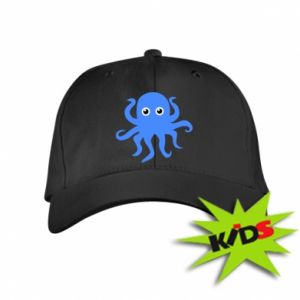 Kids' cap Blue octopus - PrintSalon