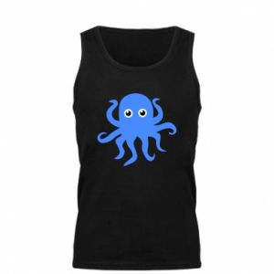 Men's t-shirt Blue octopus - PrintSalon