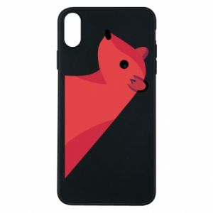 Phone case for iPhone Xs Max Pink Mongoose - PrintSalon