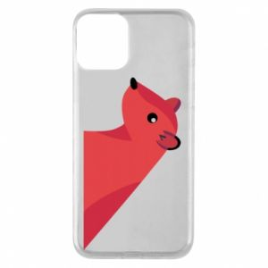 Phone case for iPhone 11 Pink Mongoose - PrintSalon