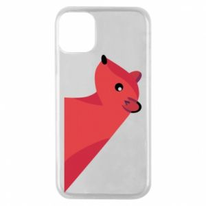 Phone case for iPhone 11 Pro Pink Mongoose - PrintSalon