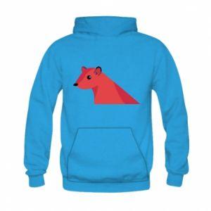 Bluza z kapturem dziecięca Pink Mongoose