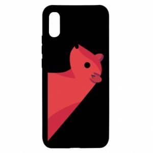 Etui na Xiaomi Redmi 9a Pink Mongoose