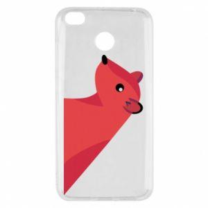 Etui na Xiaomi Redmi 4X Pink Mongoose