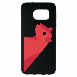 Etui na Samsung S7 EDGE Pink Mongoose