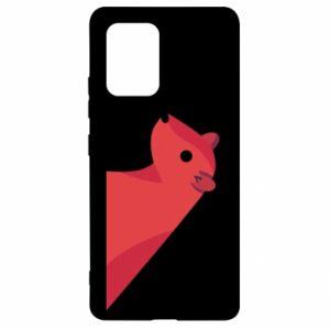 Etui na Samsung S10 Lite Pink Mongoose