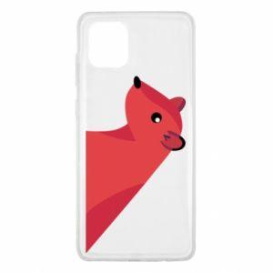 Etui na Samsung Note 10 Lite Pink Mongoose