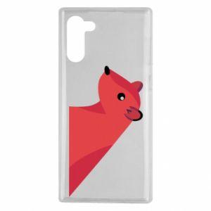 Etui na Samsung Note 10 Pink Mongoose