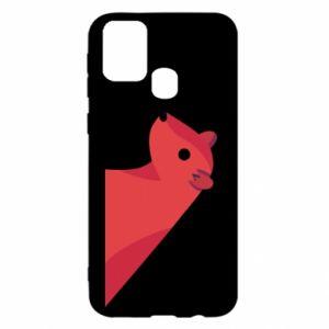 Etui na Samsung M31 Pink Mongoose