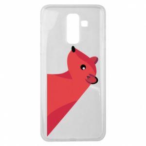 Etui na Samsung J8 2018 Pink Mongoose