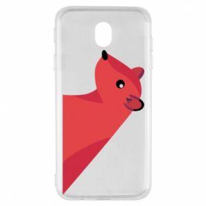 Etui na Samsung J7 2017 Pink Mongoose