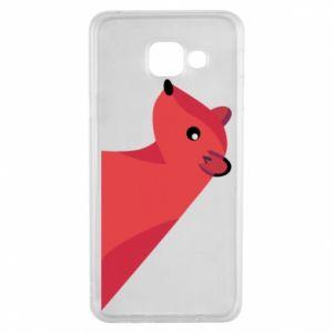 Etui na Samsung A3 2016 Pink Mongoose