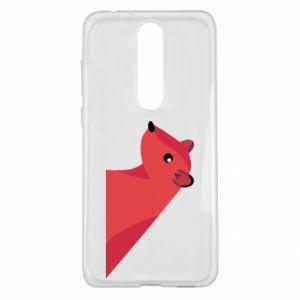 Etui na Nokia 5.1 Plus Pink Mongoose