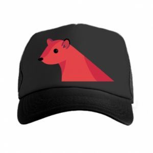 Trucker hat Pink Mongoose - PrintSalon