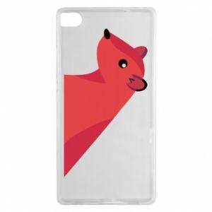 Etui na Huawei P8 Pink Mongoose