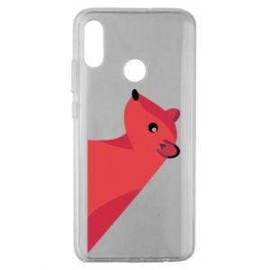 Etui na Huawei Honor 10 Lite Pink Mongoose