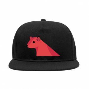 SnapBack Pink Mongoose - PrintSalon
