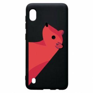 Etui na Samsung A10 Pink Mongoose
