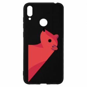 Etui na Huawei Y7 2019 Pink Mongoose