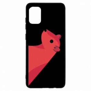 Etui na Samsung A31 Pink Mongoose