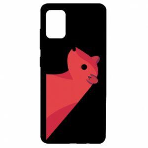 Etui na Samsung A51 Pink Mongoose